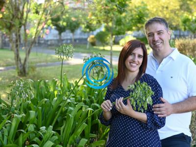 Margarida Santiago e Hugo Pereira